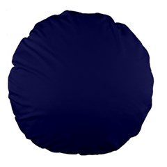 Usa Flag Blue Royal Blue Deep Blue Large 18  Premium Flano Round Cushions by PodArtist