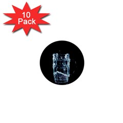 Glass Water Liquid Background 1  Mini Buttons (10 Pack)