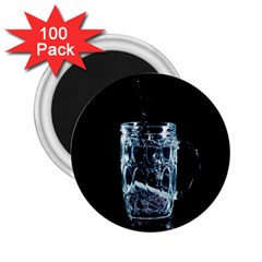 Glass Water Liquid Background 2 25  Magnets (100 Pack)