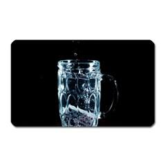 Glass Water Liquid Background Magnet (rectangular) by BangZart