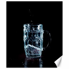 Glass Water Liquid Background Canvas 20  X 24   by BangZart