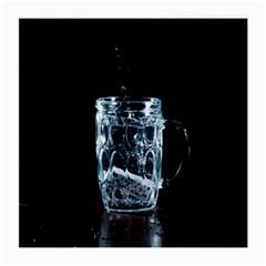 Glass Water Liquid Background Medium Glasses Cloth