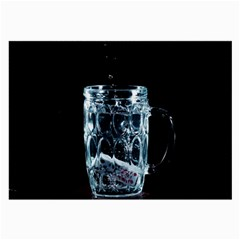 Glass Water Liquid Background Large Glasses Cloth