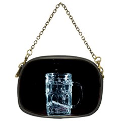 Glass Water Liquid Background Chain Purses (one Side)  by BangZart