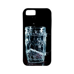 Glass Water Liquid Background Apple Iphone 5 Classic Hardshell Case (pc+silicone)