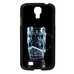 Glass Water Liquid Background Samsung Galaxy S4 I9500/ I9505 Case (black) by BangZart