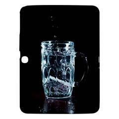 Glass Water Liquid Background Samsung Galaxy Tab 3 (10 1 ) P5200 Hardshell Case