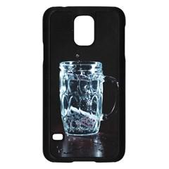 Glass Water Liquid Background Samsung Galaxy S5 Case (black) by BangZart