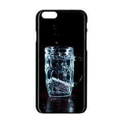 Glass Water Liquid Background Apple Iphone 6/6s Black Enamel Case by BangZart