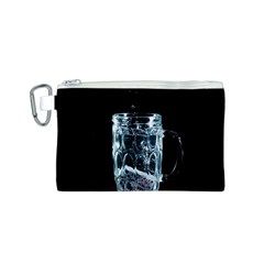 Glass Water Liquid Background Canvas Cosmetic Bag (s) by BangZart