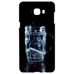 Glass Water Liquid Background Samsung C9 Pro Hardshell Case  by BangZart