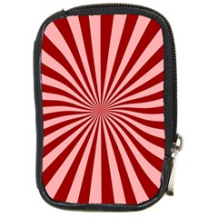 Sun Background Optics Channel Red Compact Camera Cases