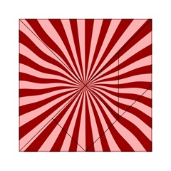 Sun Background Optics Channel Red Acrylic Tangram Puzzle (6  X 6 )