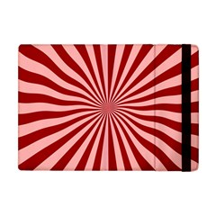 Sun Background Optics Channel Red Apple Ipad Mini Flip Case by BangZart