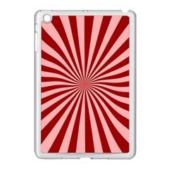 Sun Background Optics Channel Red Apple Ipad Mini Case (white) by BangZart
