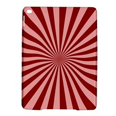 Sun Background Optics Channel Red Ipad Air 2 Hardshell Cases