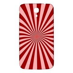Sun Background Optics Channel Red Samsung Galaxy Mega I9200 Hardshell Back Case