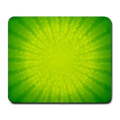 Radial Green Crystals Crystallize Large Mousepads by BangZart