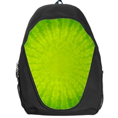 Radial Green Crystals Crystallize Backpack Bag