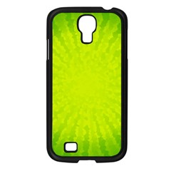 Radial Green Crystals Crystallize Samsung Galaxy S4 I9500/ I9505 Case (black)