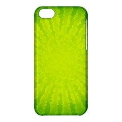 Radial Green Crystals Crystallize Apple Iphone 5c Hardshell Case by BangZart