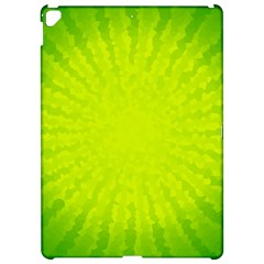 Radial Green Crystals Crystallize Apple Ipad Pro 12 9   Hardshell Case