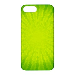 Radial Green Crystals Crystallize Apple Iphone 7 Plus Hardshell Case by BangZart