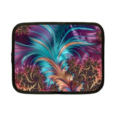 Feather Fractal Artistic Design Netbook Case (small)  by BangZart