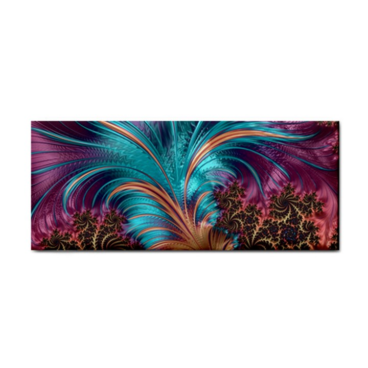Feather Fractal Artistic Design Cosmetic Storage Cases