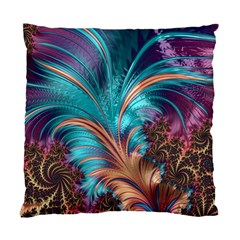 Feather Fractal Artistic Design Standard Cushion Case (two Sides) by BangZart