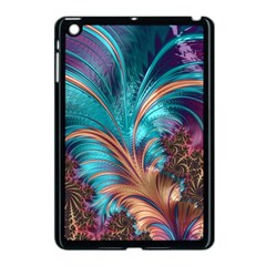 Feather Fractal Artistic Design Apple Ipad Mini Case (black) by BangZart