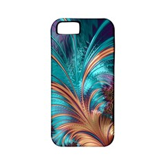 Feather Fractal Artistic Design Apple Iphone 5 Classic Hardshell Case (pc+silicone) by BangZart