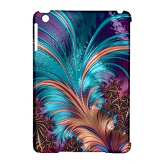 Feather Fractal Artistic Design Apple Ipad Mini Hardshell Case (compatible With Smart Cover)