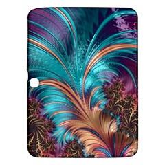 Feather Fractal Artistic Design Samsung Galaxy Tab 3 (10 1 ) P5200 Hardshell Case