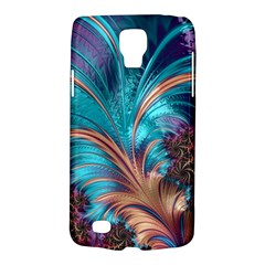 Feather Fractal Artistic Design Galaxy S4 Active by BangZart