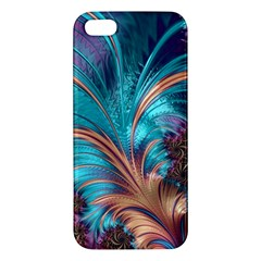 Feather Fractal Artistic Design Iphone 5s/ Se Premium Hardshell Case by BangZart