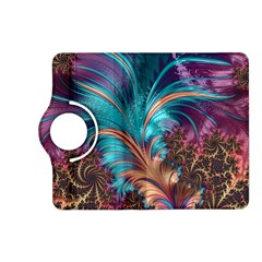 Feather Fractal Artistic Design Kindle Fire Hd (2013) Flip 360 Case by BangZart