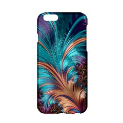 Feather Fractal Artistic Design Apple Iphone 6/6s Hardshell Case by BangZart
