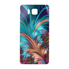 Feather Fractal Artistic Design Samsung Galaxy Alpha Hardshell Back Case