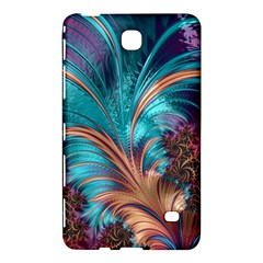 Feather Fractal Artistic Design Samsung Galaxy Tab 4 (7 ) Hardshell Case  by BangZart