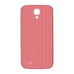 Christmas Red Velvet Mini Gingham Check Plaid Samsung Galaxy S4 I9500/i9505  Hardshell Back Case by PodArtist