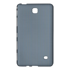 Silent Night Blue Mini Gingham Check Plaid Samsung Galaxy Tab 4 (7 ) Hardshell Case  by PodArtist