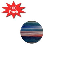 Background Horizontal Lines 1  Mini Magnets (100 Pack)