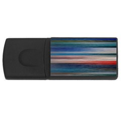 Background Horizontal Lines Usb Flash Drive Rectangular (4 Gb) by BangZart