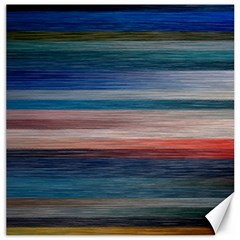 Background Horizontal Lines Canvas 12  X 12   by BangZart