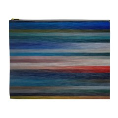 Background Horizontal Lines Cosmetic Bag (xl) by BangZart