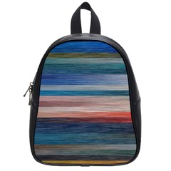 Background Horizontal Lines School Bags (small)  by BangZart