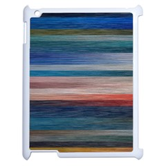 Background Horizontal Lines Apple Ipad 2 Case (white) by BangZart