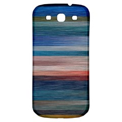 Background Horizontal Lines Samsung Galaxy S3 S Iii Classic Hardshell Back Case by BangZart