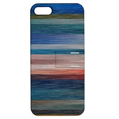 Background Horizontal Lines Apple Iphone 5 Hardshell Case With Stand by BangZart